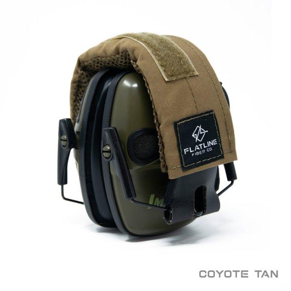 Ear Pro Wrap, Coyote Tan | Flatline Fiber Co.