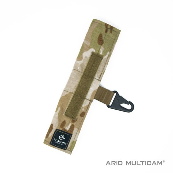 Ear Pro Wrap w Lanyard, Arid Multicam | Flatline Fiber Co.