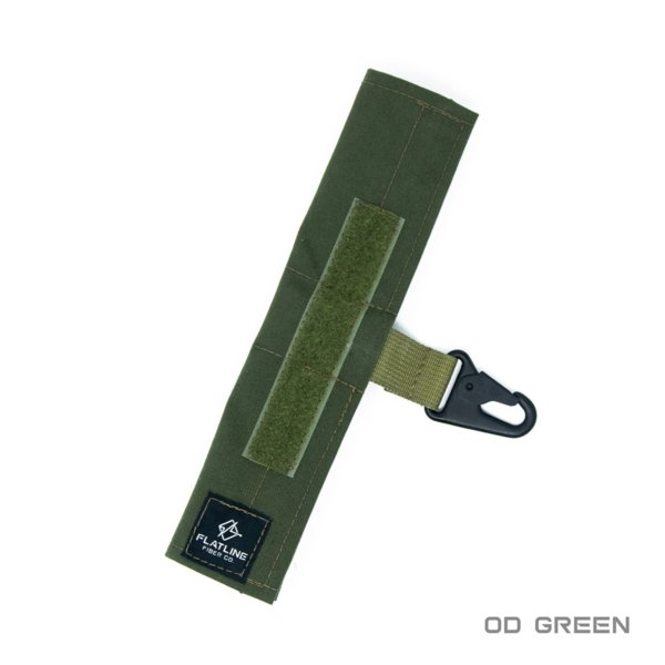 Ear Pro Wrap w Lanyard, OD Green | Flatline Fiber Co.