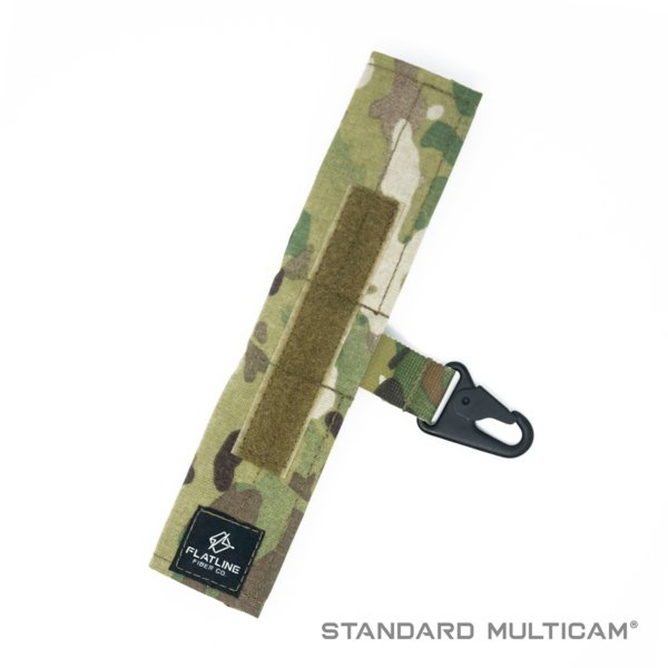 Ear Pro Wrap w Lanyard, Standard Multicam | Flatline Fiber Co.